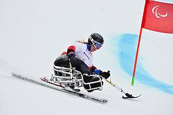 Erna Fridriksdottir, Women's Giant Slalom at the 2014 Sochi Winter Paralympic Games, Russia