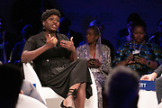 Fatoumata Ba, Founder and Chief Executive Officer, Janngo, France; Young Global Leader speaking during the session From Start-Ups to Scale-Ups at the World Forum World Economic Forum on Africa 2019. Copyright by World Economic Forum / Greg Beadle