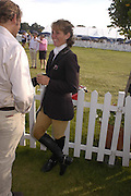 Caroline Powell, The Land Rover Burghley Horse Trials. 4 September. ONE TIME USE ONLY - DO NOT ARCHIVE  © Copyright Photograph by Dafydd Jones 66 Stockwell Park Rd. London SW9 0DA Tel 020 7733 0108 www.dafjones.com