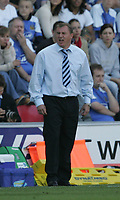 Photo: Andi Thompson.<br />Wigan Athletic v Watford. The Barclays Premiership. 23/09/2006.<br />Wigan Manager Paul Jewell