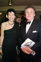 LORD & LADY HINDLIP at a reception in London <br /> on 15th June 2000.OFH 80<br /> © Desmond O'Neill Features:- 020 8971 9600<br />    10 Victoria Mews, London.  SW18 3PY <br /> www.donfeatures.com   photos@donfeatures.com<br /> MINIMUM REPRODUCTION FEE AS AGREED.<br /> PHOTOGRAPH BY DOMINIC O'NEILL