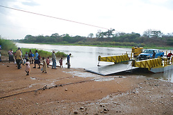 Ferry Crossing River