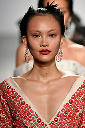 Model walks on the runway during the Bibhu Mohapatra Fashion show at New York Fashion Week Spring Summer 2018 held in New York, NY on September 9, 2017. (Photo by Jonas Gustavsson/Sipa USA)