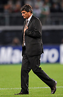 Fotball<br /> 15.09.2009<br /> Foto: Witters/Digitalsport<br /> NORWAY ONLY<br /> <br /> Trainer Juande Ramos Moskau<br /> Champions League VfL Wolfsburg - CSKA Moskva
