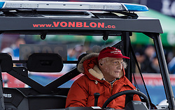 20.01.2018, Hahnenkamm, Kitzbühel, AUT, FIS Weltcup Ski Alpin, Kitzbuehel, Kitz Charity Trophy, im Bild Niki Lauda // Niki Lauda during the Kitz Charity Trophy of the FIS Ski Alpine World Cup at the Hahnenkamm in Kitzbühel, Austria on 2018/01/20. EXPA Pictures © 2018, PhotoCredit: EXPA/ Stefan Adelsberger
