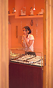 Girl age 21 working in jewelry store.  Zakopane Poland
