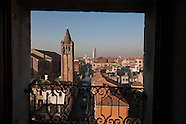 Venice view from bell towers VEN115A
