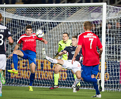 Falkirk's Rory Boulding.<br /> Falkirk beat Cowdenbeath in a penalty shoot-out, second round League Cup tie played at The Falkirk Stadium.