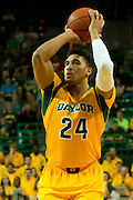 WACO, TX - JANUARY 11: Ish Wainright #24 of the Baylor Bears shoots a three-pointer against the TCU Horned Frogs on January 11, 2014 at the Ferrell Center in Waco, Texas.  (Photo by Cooper Neill/Getty Images) *** Local Caption *** Ish Wainright