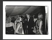 BORIS JOHNSON, Peckwater dance, Christchurch. Oxford, 1 June 1985