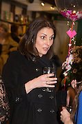 GINA BELLMAN,  Allie Esiri's The Love Book launch party , Daunt Books <br /> 83 Marylebone High Street, London. 5 February 2014