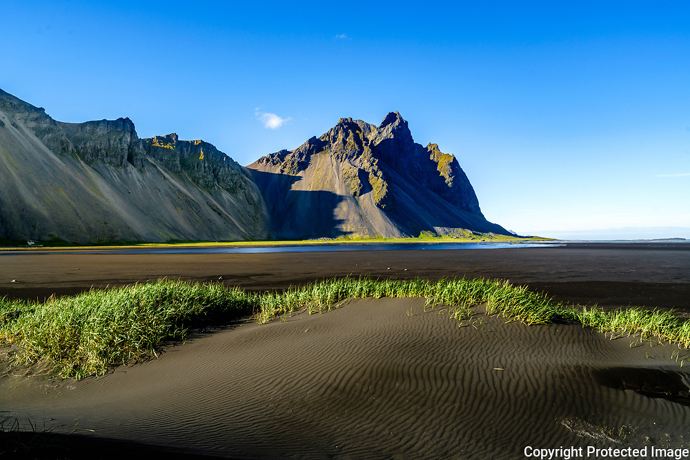 Vestrahorn on the Stokknes <br /> peninsula in southeast Iceland