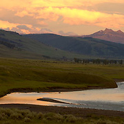 Lamar Valley in Yellowstone National Park.