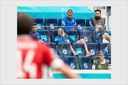 Teemu Pukki after being substitued. Finland - Russia. Euro 2020. Saint Petersburg, Russia. June 16, 2021.
