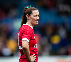 Kerin Lake of Wales<br /> <br /> Photographer Simon King/Replay Images<br /> <br /> Six Nations Round 1 - Wales Women v Italy Women - Saturday 2nd February 2020 - Cardiff Arms Park - Cardiff<br /> <br /> World Copyright © Replay Images . All rights reserved. info@replayimages.co.uk - http://replayimages.co.uk