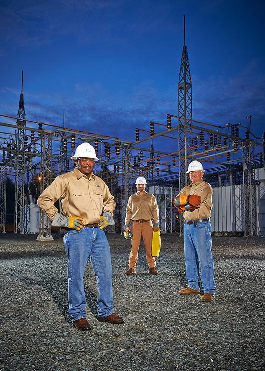 Duke Energy linemen, Duke Energy Grid Modernization