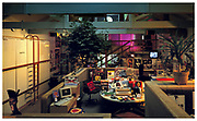 Island Records War Room London office 1987