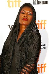 September 7, 2017 - Toronto, Ontario, Canada - Grace Jones attending the 'Grace Jones: Bloodlight and Bami' premiere during the 42nd Toronto International Film Festival at Elgin Theatre on September 07, 2017  in Toronto, Canada (Credit Image: © Future-Image via ZUMA Press)