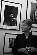 VERA BARDO WITH HER PICTURE IN THE EXHIBITION , Private view of the Taylor Wessing Portrait prize, National Portrait Gallery, London.  15 November 2016