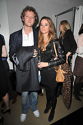 OLIVER BOLTON and CHARLOTTE COWEN  at a party to launch pop-up store Oxygen Boutique, 33 Duke of York Square, London SW3 on 8th February 2011.