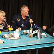 NLD/Amsterdam/20181203 - Hommage aan Tineke de Nooy, Tineke met Gordon heuckeroth en Erik de Zwart