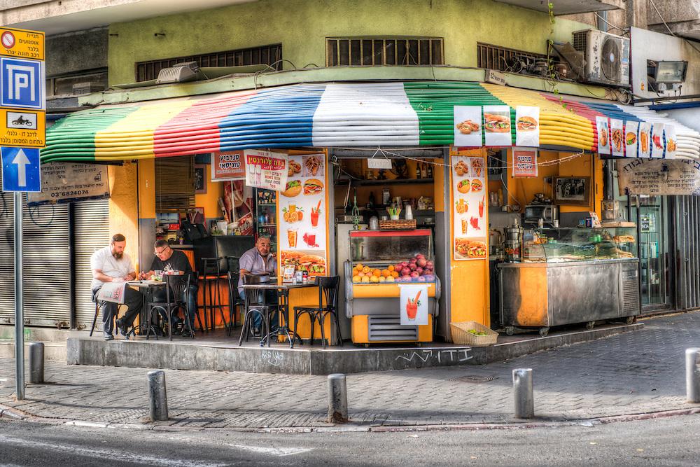 Shabi's restaurant in the Florentin quarter in Tel Aviv