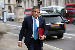 © Licensed to London News Pictures. 02/03/2020. London, UK. Secretary of State for Business, Energy and Industrial Strategy Alok Sharma arrives at The Cabinet Office. Photo credit: George Cracknell Wright/LNP