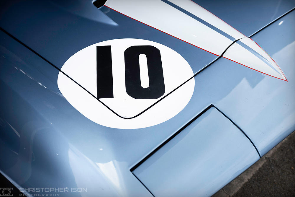 Car number ten.<br /> Picture date: Saturday April 6, 2019.<br /> Photograph by Christopher Ison ©<br /> 07544044177<br /> chris@christopherison.com<br /> www.christopherison.com