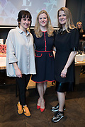 NO FEE PICTURES<br /> 12/4/18 Jenny Huston and Leah Hewson with Nuala Carey at the launch of their jewellery and fine art collaboration, Edge Only x Leah Hewson at The Dean Dublin. Arthur Carron