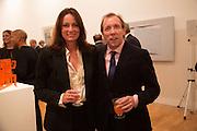 TRISH SIMONON; DAVID DAWSON, Gala Opening of RA Now. Royal Academy of Arts,  8 October 2012.