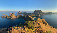 Dry season in Indonesia makes for a fall-like burnt brown landscape among the incredible islands of Komodo National Park.