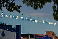 Outside the ground during the EFL Sky Bet Championship match between Sheffield Wednesday and Sheffield Utd at Hillsborough, Sheffield, England on 24 September 2017. Photo by Adam Rivers.