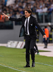 May 20, 2018 - Rome, Italy - Simone Inzaghi during the Italian Serie A football match between S.S. Lazio and F.C. Inter at the Olympic Stadium in Rome, on may 20, 2018. (Credit Image: © Silvia Lore/NurPhoto via ZUMA Press)