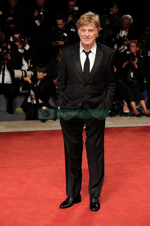 Our Souls At Night Premiere at the 74th Venice Film Festival. 01 Sep 2017 Pictured: VENICE, ITALY - SEPTEMBER 01: Robert Redford attends Our Souls At Night Premiere premiere during the 74th Venice Film Festival at Sala Casino. Photo credit: MEGA TheMegaAgency.com +1 888 505 6342