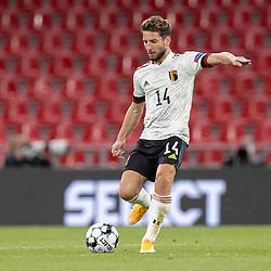 Dries Mertens (Belgien) under UEFA Nations League kampen mellem Danmark og Belgien den 5. september 2020 i Parken, København (Foto: Claus Birch).