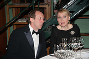DAVE DAWSON; AIMEE HEUZENROEDER, The London Library Annual  Life in Literature Award 2013 sponsored by Heywood Hill. The London Library Annual Literary dinner. London Library. St. james's Sq. London. 16 May 2013.