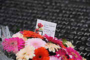 Flowers at the memorial to the victims of the July 7th London bombings, at Hyde Park in London. Thursday marks the sixth anniversary of the July 7 bombings, which killed 52 people and injured more than 770 in terrorist attacks.