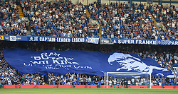 A banner for Ray Wilkins prior to kick off