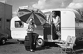 1966 - Coca-Cola girl advertisement at Esso Belmont Service Station