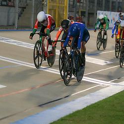 09-10-2020: Wielrennen: EK Baan: Fiorenzurola<br /> <br /> Zilver voor EK baanwielrennen op de scratch voor Maike Van Der Duin (Netherlands) voor Martina Fidanza (Italy)