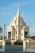 A temple at Surat Thani, Thailand. Surat Thani is a city in southern Thailand. It is the capital of the province Surat Thani, and sometimes referred as Mueang Surat Thani to more clearly distinguish it from the province.
