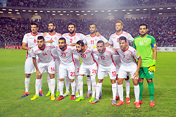 September 1, 2017 - Tunis, Tunisia - Team of Tunisia during the qualifying match for the World Cup Russia 2018 between Tunisia and the Democratic Republic of Congo (RD Congo) at the Rades stadium in Tunis. (Credit Image: © Chokri Mahjoub via ZUMA Wire)