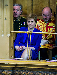 Pictured: Nicola Sturgeon was an interested guest at the opening of the General Assembly<br /> <br /> The 2018 General Assembly of the Church of Scotland begins.This year's annual gathering runs until Friday May 25<br /> <br /> Ger Harley   EEm 19 May 2018