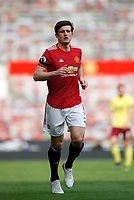 Football - 2020 / 2021 Premier League - Manchester United vs Burnley - Old Trafford<br /> <br /> Harry Maguire of Manchester United at Old Trafford<br /> <br /> Credit COLORSPORT/LYNNE CAMERON