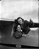 1953 - The Dublin Glider club practice at Weston airfield