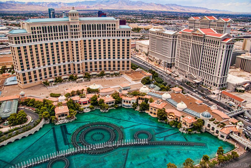 The Bellagio & Caesar's Palace Hotels