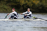 Crew: 40 - Amin / Sherry - East India Club Rowing Section - Op 2- Club <br /> <br /> Pairs Head 2020