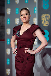Amy Adams attending the 72nd British Academy Film Awards, Arrivals, Royal Albert Hall, London. Picture date: Sunday February 10th, 2019. Photo credit should read: Matt Crossick/ EMPICS Entertainment.