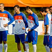 NLD/Katwijk/20100809 - Training van het Nederlands elftal, Ron Vlaar