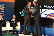 DESCRIZIONE : Milano Italia Basket Hall of Fame<br /> GIOCATORE : Sauro Bufalini<br /> SQUADRA : FIP Federazione Italiana Pallacanestro <br /> EVENTO : Italia Basket Hall of Fame<br /> GARA : <br /> DATA : 07/05/2012<br /> CATEGORIA : Premiazione<br /> SPORT : Pallacanestro <br /> AUTORE : Agenzia Ciamillo-Castoria/GiulioCiamillo